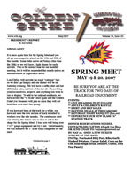 May 2007 news letter
