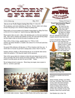 May  2013 news letter
